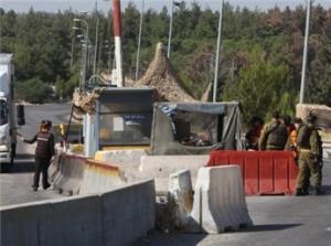 نابلس :  اصابة مستوطن وتحطيم مركبات