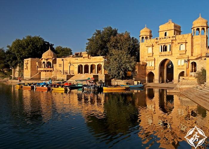 بالصور  ..  جايسلمر المدينة الذهبية في قلب الصحراء الهندية