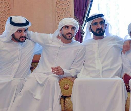 عقد قران أبناء الشيخ محمد بن راشد حاكم دبي ..  تعرف على زوجاتهم