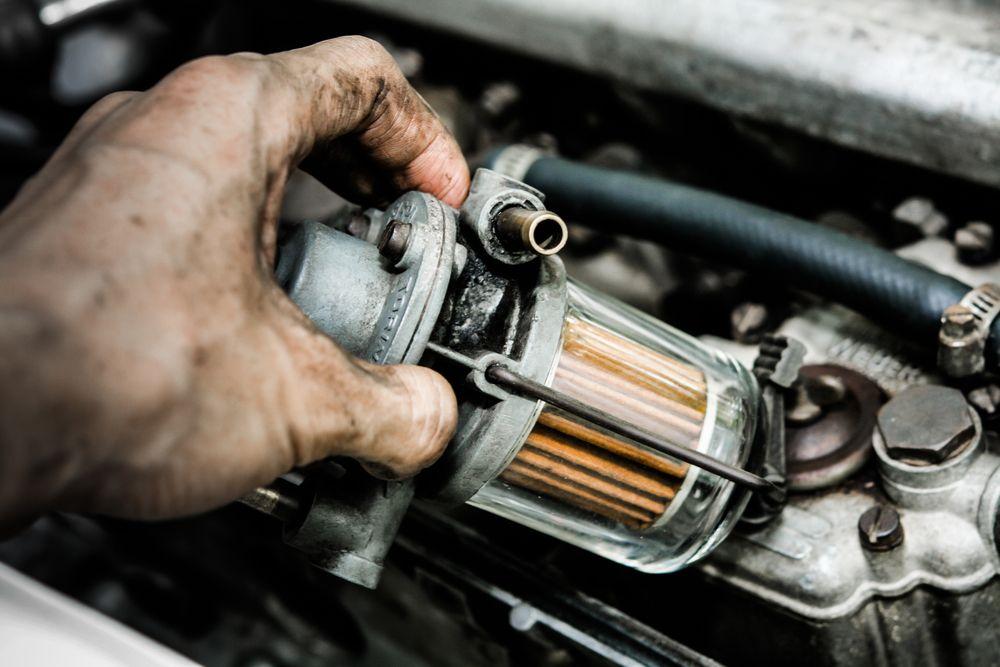 مؤشرات تلف فلتر بنزين السيارة