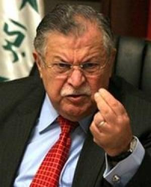 وفاة الرئيس العراقي جلال طالباني سريراً