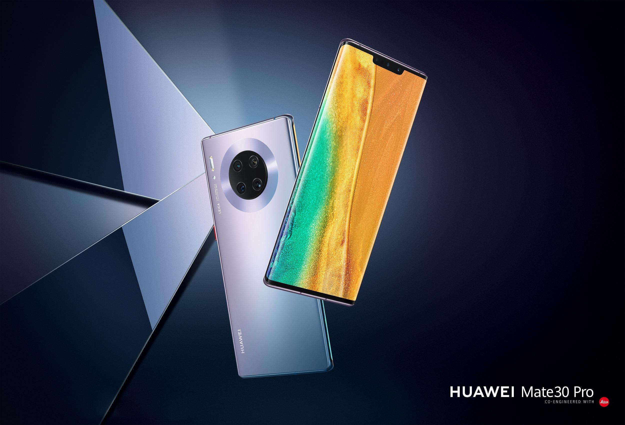 تصميم أيقوني وميزات تصوير مقاطع فيديو لم يسبق لها مثيل أربعة أسباب تجعل هاتف Huawei Mate 30 Pro ملك الهواتف الذكية