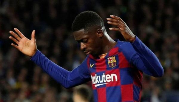 برشلونة يؤكد صدمة ديمبلي ببيان رسمي