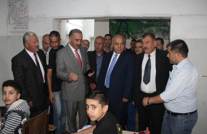 وزير التربية : إنشاء بناء جديد لمدرسة الذكور في اشتفينا بمحافظة عجلون
