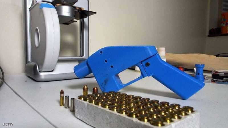 """الأسلحة البلاستيكية """"الثلاثية"""" تثير قلق الكونغرس"""