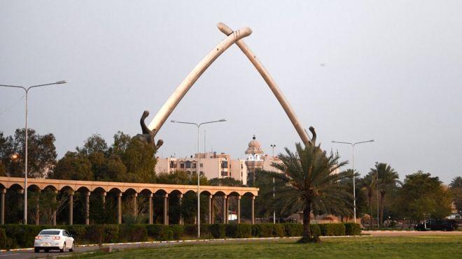 العراق : صاروخ يستهدف المنطقة الخضراء