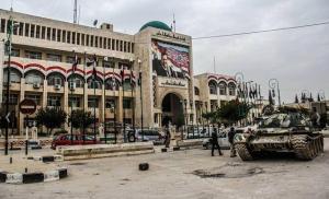 المعارضة السورية تسيطر على مدينة إدلب بالكامل