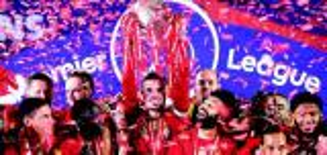 ليفربول يحصل على مبلغ قياسي بعد فوزه بلقب بالدوري الانجليزي