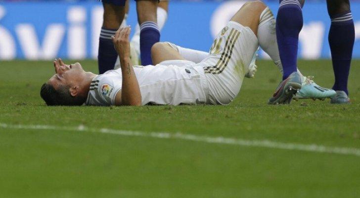 الإصابة تغيب خاميس 15 يوما عن ريال مدريد