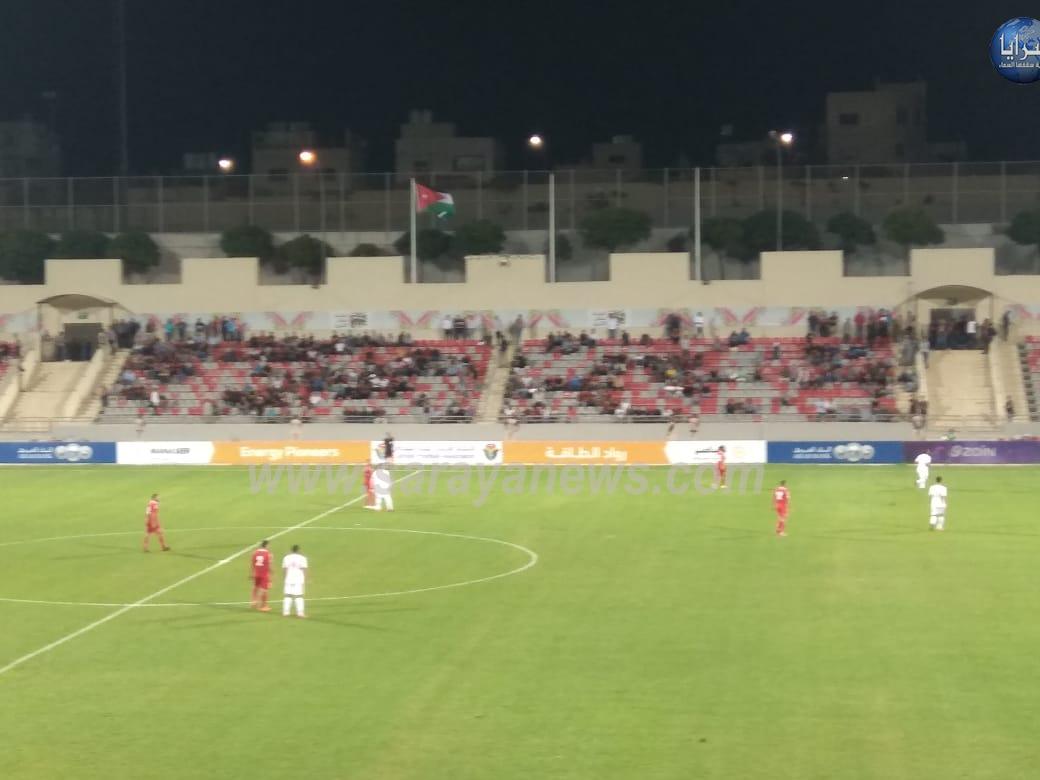خسارة منتخبنا الوطني بهدف أمام شقيقه اللبناني