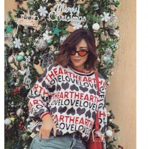 بالصور - هكذا ردت بسمة بوسيل على تصريحات حبيبة تامر حسني السابقة