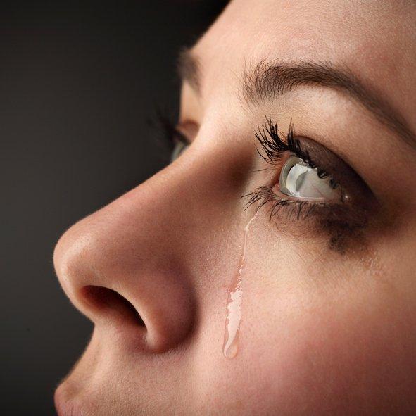 البكاء مفيد للصحة!
