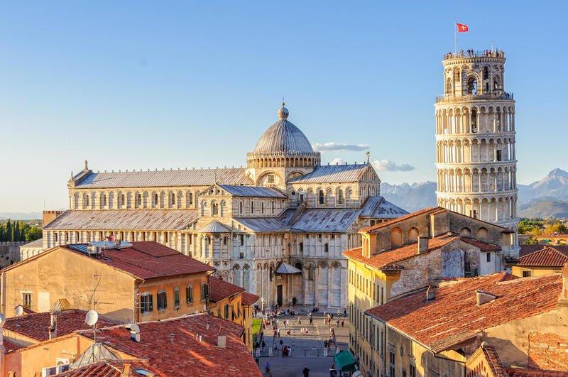 بالفيديو  ..  السياحة في ايطاليا: إجازة قصيرة في بيزا