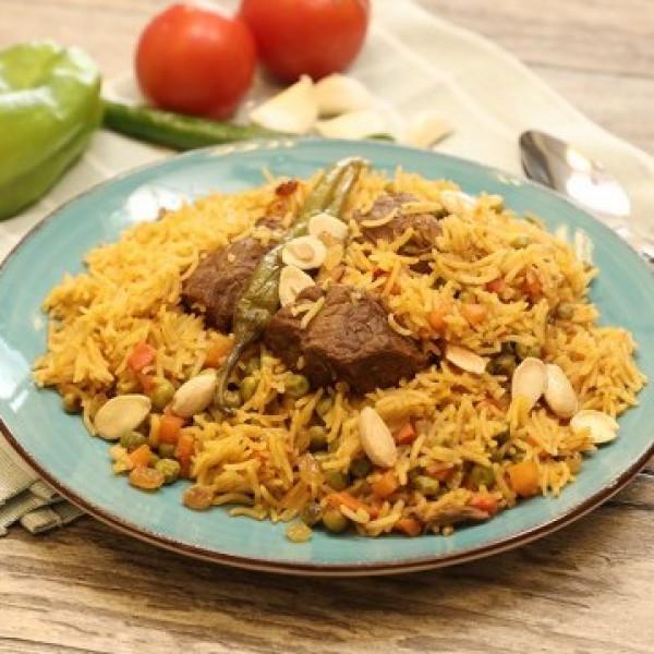 طريقة عمل الأرز باللحم والبهارات