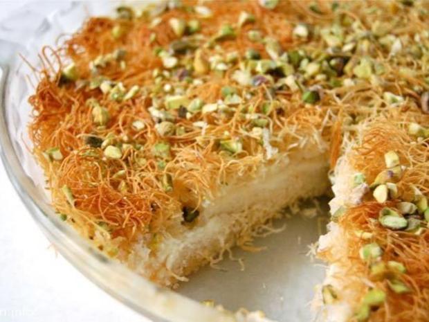 طريقة سهلة لعمل الكنافة في المقلاة خلال شهر رمضان