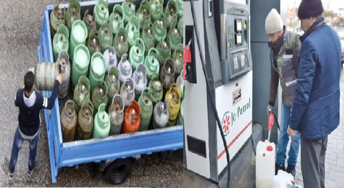 نقيب محطات المحروقات لسرايا: الكاز متوفر وبكميات كافية بجميع المحافظات ..  وارتفاع الطلب على الغاز إلى 200 ألف اسطوانة
