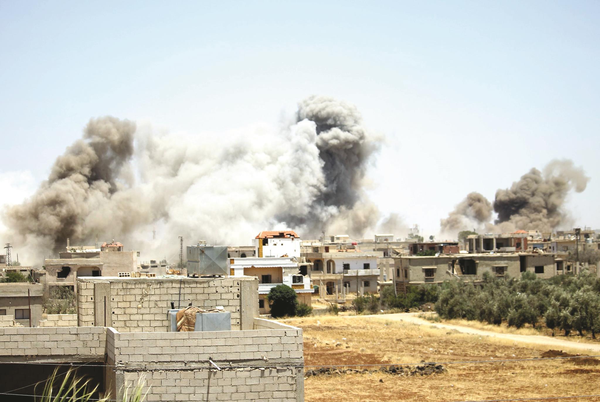 درعا : المعارضة تتهم روسيا بمحاولة اغتيال وفدها المفاوض  ..  تفاصيل