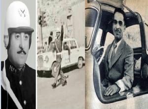 بالصور  ..  قصة الشرطي الذي أدان سيارة الملك حسين بحادث سير بالخميسنات  ..  فكيف رد الملك عليه ؟