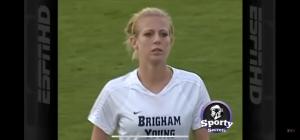 بالفيديو :اعنف لاعبة كرة قدم بالعالم