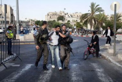 مواجهات واصابات في مواجهات بذكرى إنتفاضة الأقصى (صور وفيديو)
