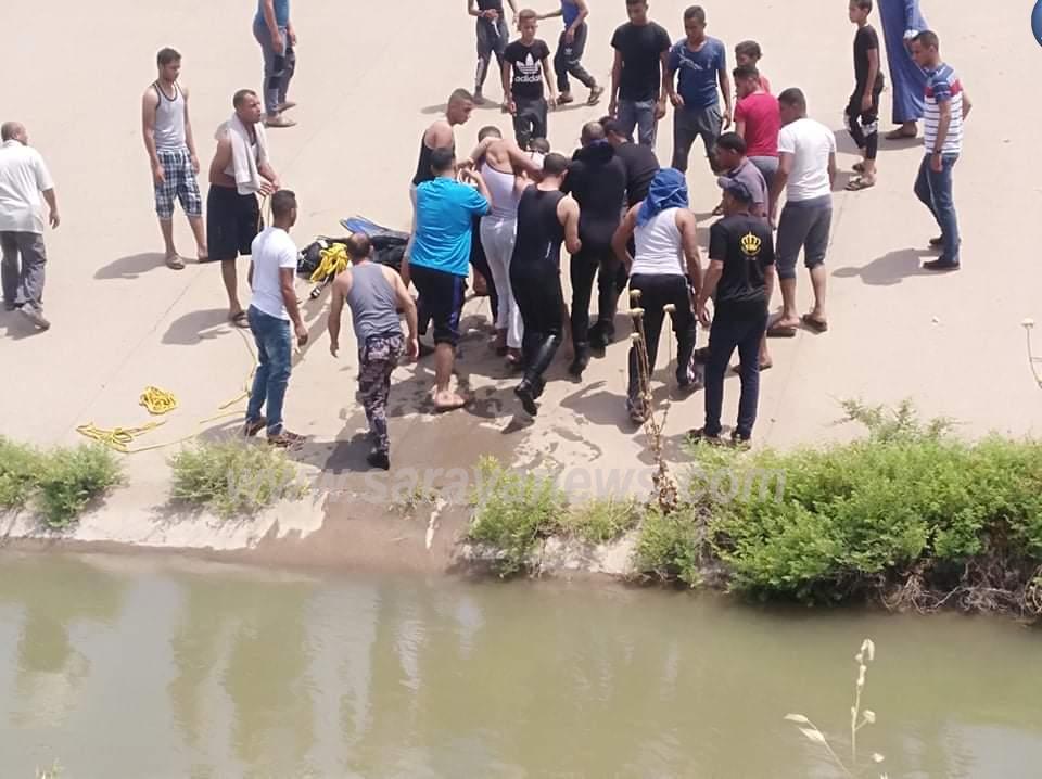 بالصور  ..  وفاة عشريني غرقا في قناة الملك عبدالله بمنطقة الشونه الشمالية