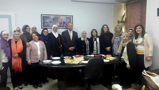 كلية الآداب والعلوم بجامعة عمان الاهلية  تحتفل بيوم المرأة العالمي