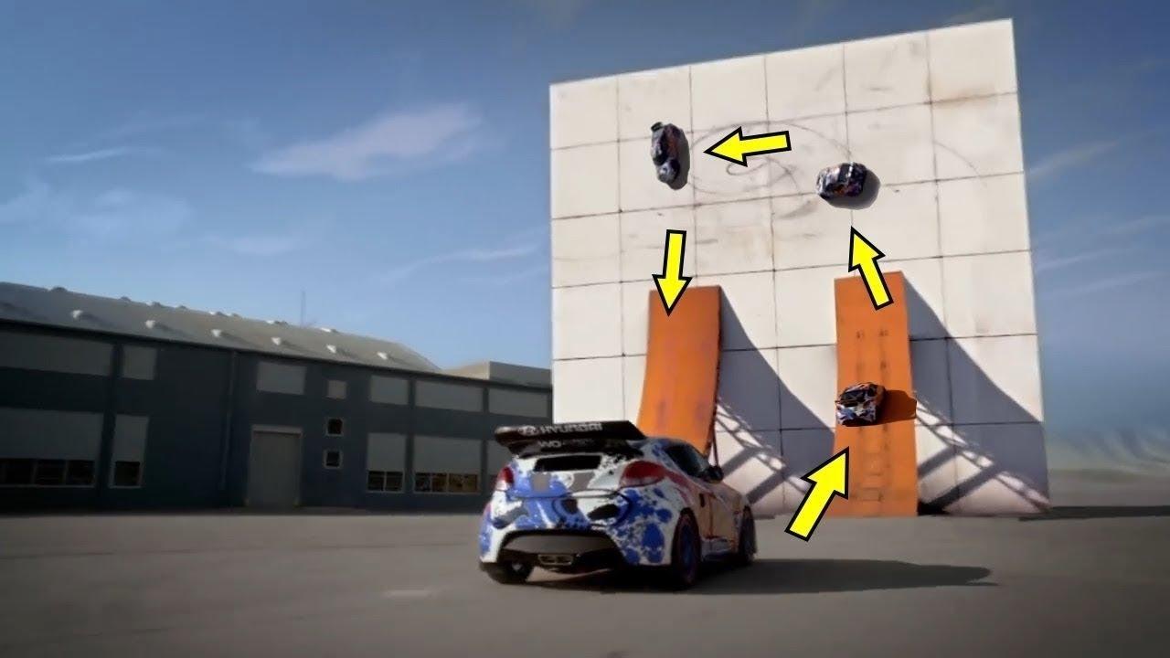 بالفيديو .. أكثر 10 حركات خطيرة تم تنفيذها بالسيارات