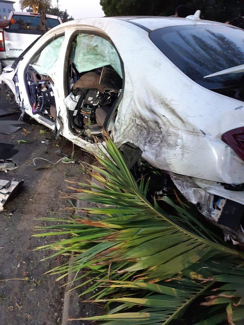 فيديو  ..   حادث مروري مروع لسائق مركبة متهور في السعودية