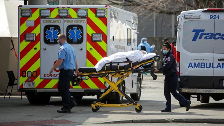 1509 وفاة جديدة بكورونا في أمريكا بتراجع 5 وفيات عن اليوم السابق