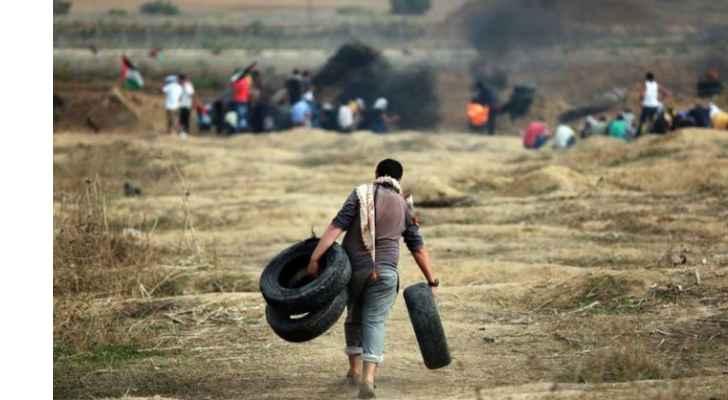 """اهالي غزة يستعدون لانطلاق جمعة """"انتفاضة القدس"""""""