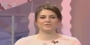 بالفيديو ... مذيعة اوكرانية تتوفى على الهواء