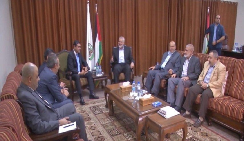 تفاصيل مباحثات حماس مع المسؤولين المصريين بشأن التهدئة في غزة