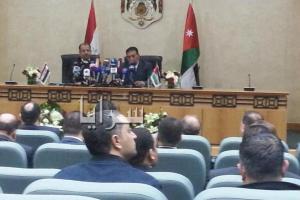 """رئيس مجلس النواب العراقي : نحن بحاجة للاردن لتدريب الجيش العراقي لمواجهة """"داعش""""..صور"""