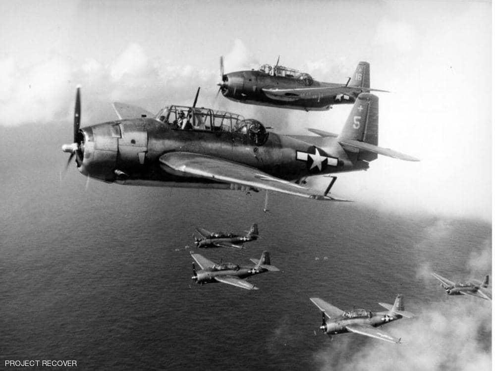 بعد 76 عاما ..  حل لغز 3 مقاتلات أميركية أسقطها اليابانيون