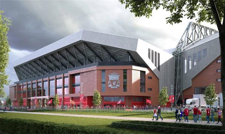 """بـ 7000 مقعد ..  ليفربول يُعلن توسعة مدرجات """"أنفيلد"""""""