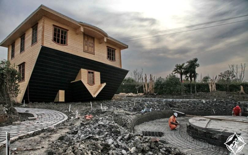 بالصور ..  أغرب معالم الجذب السياحى فى الصين