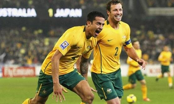 منتخب أستراليا يصل عمّان استعدادا لملاقاة المنتخب الوطني