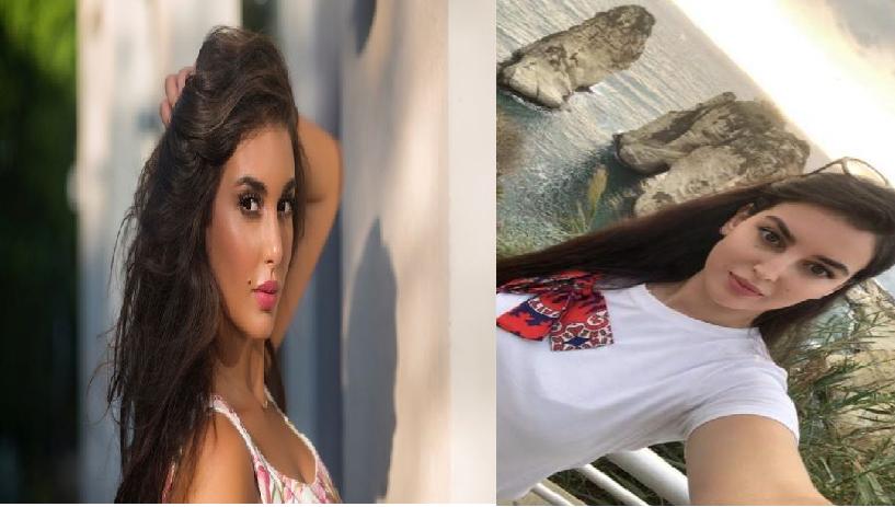بالصور  ..  شبيهة ياسمين صبري عارضة مغربية ..  وهل ستنافسها بالتمثيل ؟