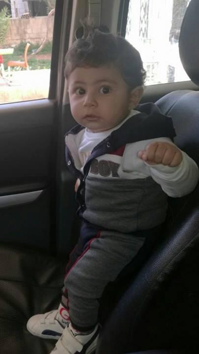 الطفل  كرم منصور ميلاد سعيد