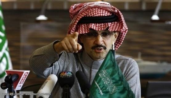 الوليد بن طلال: الخيار العسكري هو الحل لتحييد النووي الإيراني