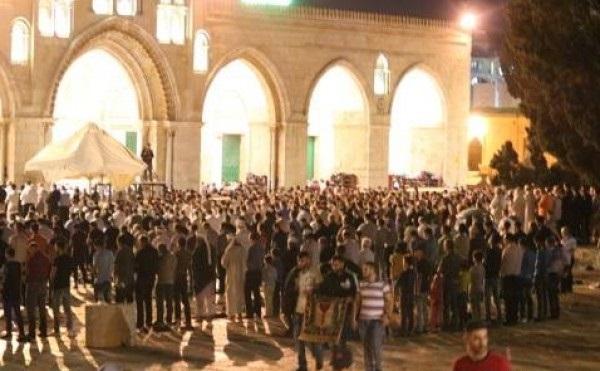 الشرطة الإسرائيلية: السماح للرجال فوق40 عامًا بالدخول للقدس ليلة القدر