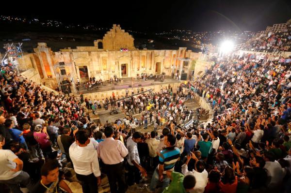 افتتاح مهرجان جرش اليوم