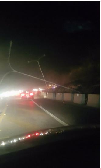اعادة فتح طريق اربد - عمان بعد اغلاقه بسبب انهيارات