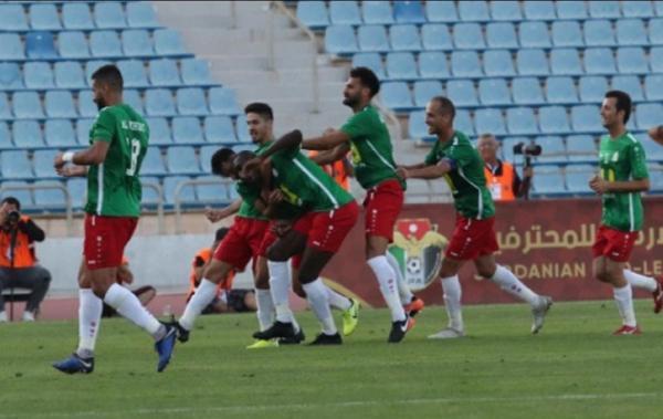 الوحدات بطل الدوري يفوز على الفيصلي في مباراة الختام
