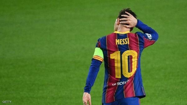 برشلونة يلعب دون ميسي بدوري الأبطال