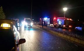 وفاة وإصابة 7 آخرين إثر حادث تدهور في العقبة