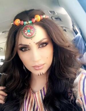 بالصور.. نسرين طافش تكشف تفاصيل عملها الجديد العقاب والعفراء