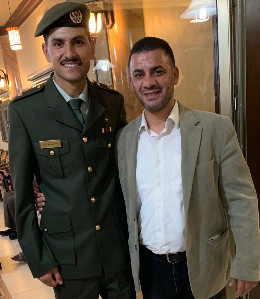 مبارك التخرج للملازم حسام البدور