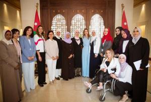 """بالفيديو  .. الملكة رانيا :""""يا ريت المسؤولين يقتدوا بسيدنا ..  ويتبعوا اسلوبه في الحياة"""""""
