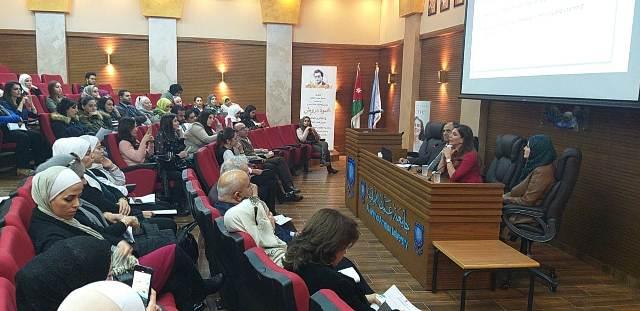 """محاضرة """"طبية تجميلية"""" للدكتورة فريدا طنوس في جامعة عمان الأهلية"""